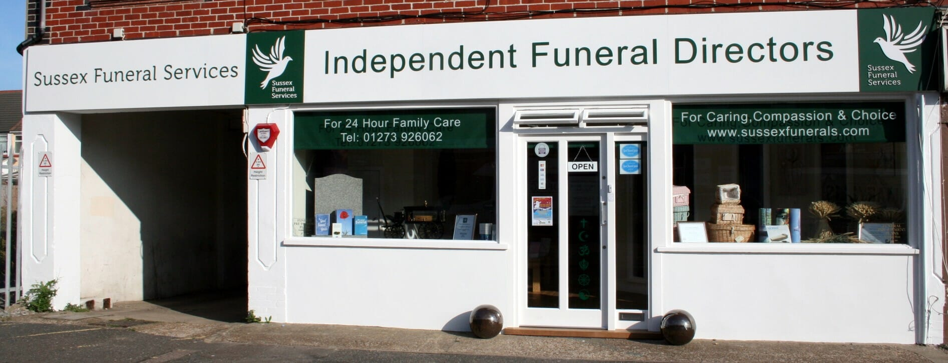 A Brief Insight of the Sussex Funeral Services Premises