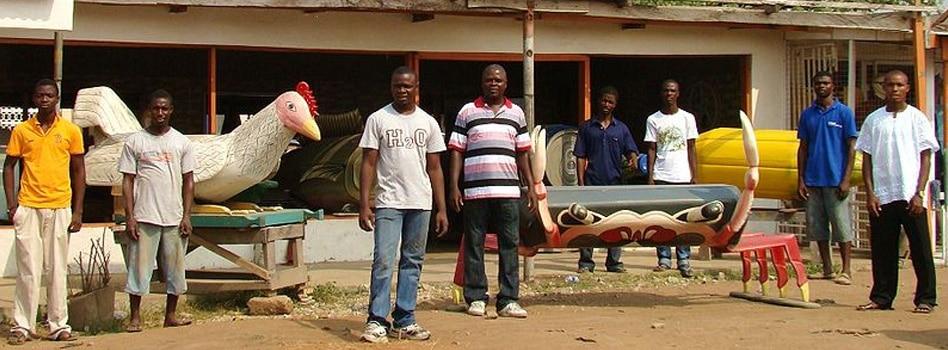 Ghana's Fantasy Coffins